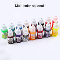 High sale 10ML Epoxy Resin Pigment UV Resin Coloring Dye Colorant Resin Pigment DIY Handmade Crafts Art Sets Colors NE