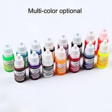 High sale 10ML Epoxy Resin Pigment UV Coloring Dye Colorant DIY Handmade Crafts Art Sets  Colors NE