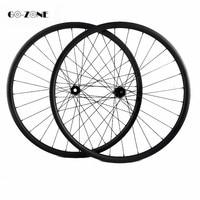 Mtb wielset 29er asymmetrische 35x25mm tubeless fiets carbon disc wielen DT240S shiman0/XD 12 speed mtb fiets wielen pijler 1420