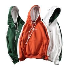 Весенне-осенние мужские толстовки, теплое флисовое пальто, мужские толстовки с капюшоном, брендовые уличные хип-хоп повседневные худи с капюшоном для скейтборда
