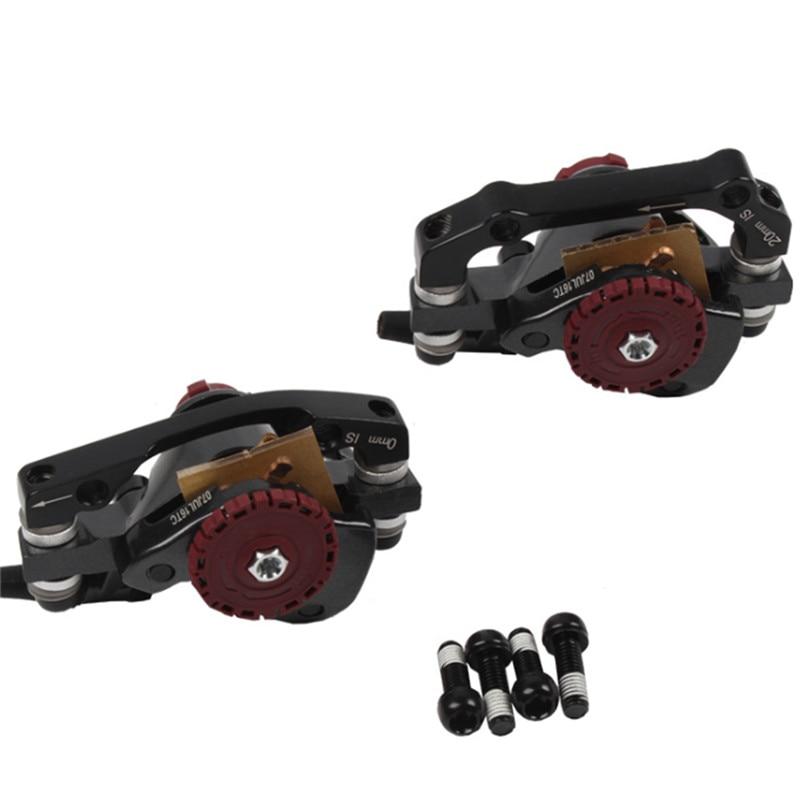 Vélo vélo mécanique frein disque avant arrière étrier VTT vélo plaquettes de frein accessoires HS1 160mm Rotor pour Avid