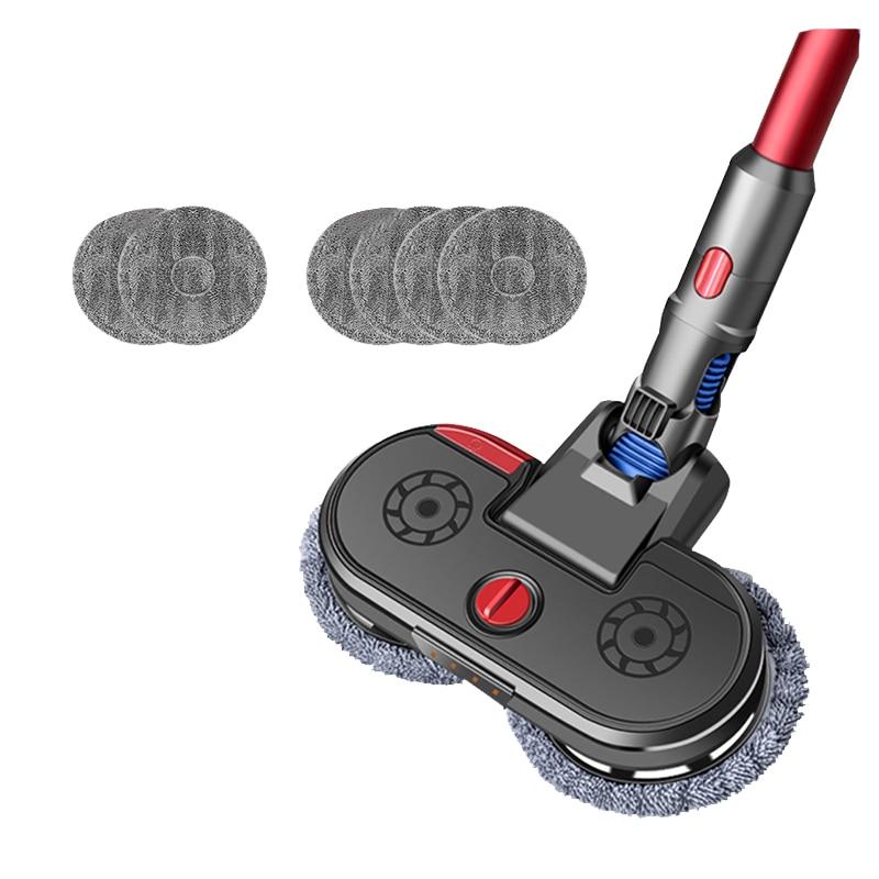 for Dyson V6 V7 V8 V10 V11 Vacuum Cleaner Accessories 1 Xmop Head + 6 Xmop Cloth Spray Type