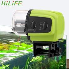 Hilife 1 pçs de alimentação alimentos de plástico display digital casa aquário automático temporizador alimentador portátil ferramentas alimentador peixes
