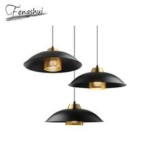 Modern Iron Pendant Lights Lamp LED E27 Simple Pendant Lighting Living Room Dining Room Kitchen Bedroom Loft Hanging Lights