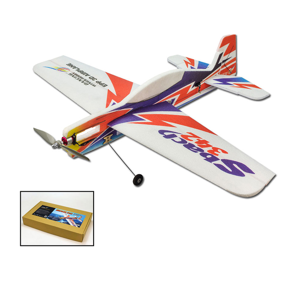 EPP RC Airplane 1000mm Electric Powered SBACH342 RC Aircraft Unassembled PNP Version DIY Flying Model E1804