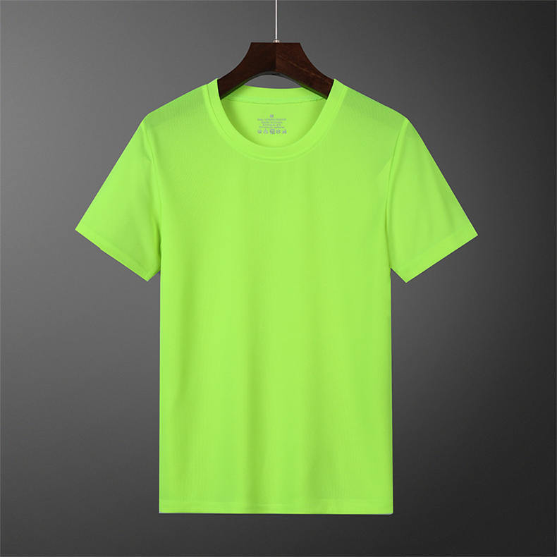 Free Ship T-Shirts Men Women Summer Fast Dry Male Female Basic Tshirts Short Plain Running Solid Sport Tees shirt Plus Size 4XL 05