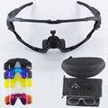 9270 челюсти стиль 5 линз велосипедные очки MTB Фотохромные спортивные солнцезащитные очки поляризованные велосипедные очки мульти рамка