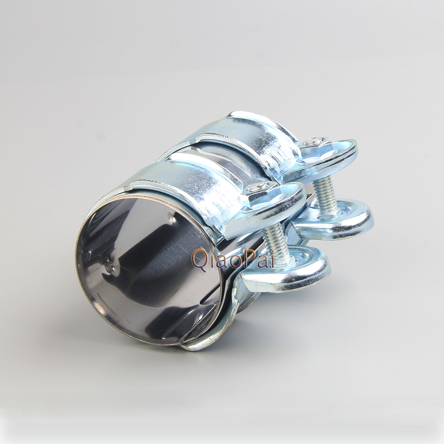 """Stainless Butt Joint Clamp Sleeve Band For Nissan 2.25/"""" 2 1//4/""""  Exhaust OD Pipe"""