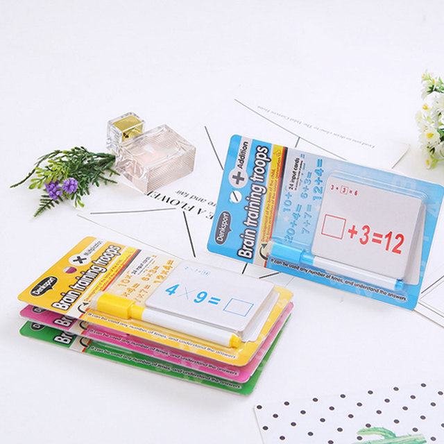 Mathematics-Teach-Card-with-Erasable-Pen-Math-Educational-Toys-for-Children-Preschool-Tool-Kindergarten-Games