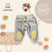 Baby sports pants children's pants spring and autumn new leisure baby boy summer