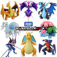 Tomy tomica moncolle ex pokemon figuras de resina fundido bolsillo monstruo modelo kit pop juguetes para bebés divertidos muñecas mágicas para niños