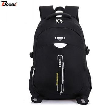цена на Waterproof Nylon School Bags for Teenage Boys Girls Backpack Men Large Capacity High Student Schoolbag Women Bookbags Teen Black