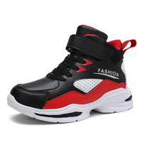 2019 New Style Kids Basketball Shoes for Boys Girls Outdoor Sneakers Children's Sport Shoes Trainning Shoes for Child High Top