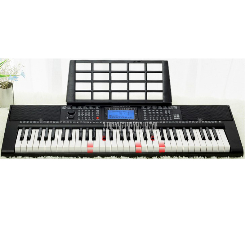 61 Key Multi-functional Digital Electric Piano Music Keyboard Key Board Beginner Study Electronic Piano For Kids Children Gift image