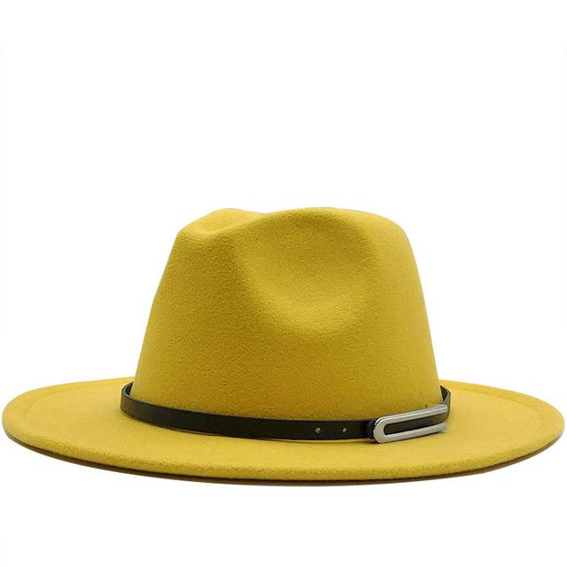 ¡Novedad de 2020! sombrero Fedora de estilo clásico de Jazz