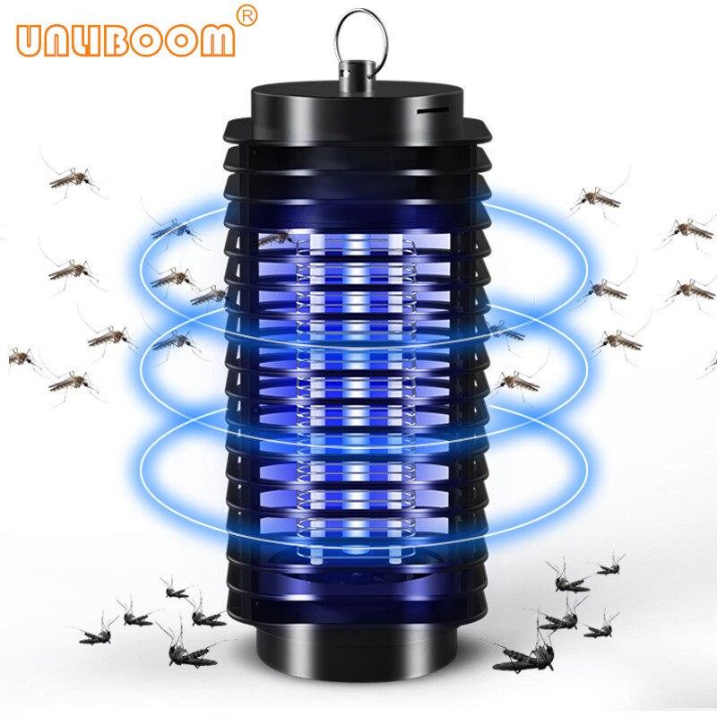 110 v/220 v elétrico portátil led mosquito inseto assassino lâmpada fly bug repelente anti mosquito uv luz da noite ue eua plug