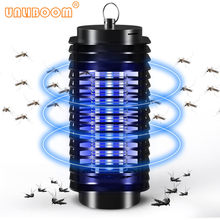 110V/ 220V Portabel Electric LED Nyamuk Insect Killer Lampu Fly Bug Penolak Anti Nyamuk UV Lampu Malam uni Eropa US Plug(China)