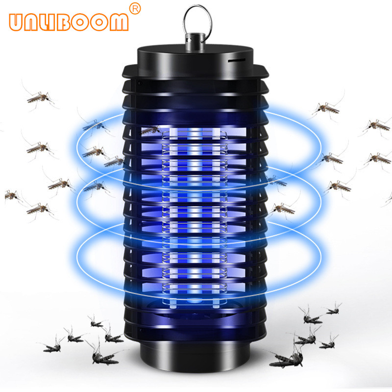 110V/ 220V Portable Electric LED Mosquito Insect Killer Lamp Fly Bug Repellent Anti Mosquito UV Night Light EU US Plug image