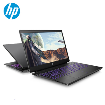 Notebook HP Game 15.6 polegadas Intel Core i7 Windows 10 8GB RAM SSD 128GB + HDD 1TB GTX1050Ti Laptop de 4GB com teclado retroiluminado 1