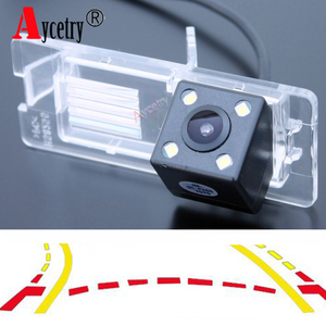 Aycetry! For Fluence Duster Reverse Dynamic Track CCD HD color car Backup Review Reversing Parking rear view camera