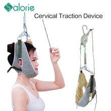 Massage du cou, dispositif de relaxation pour la tête et le cou, traction cervicale, soulage les douleurs cervicales, chiropratique, soins de santé