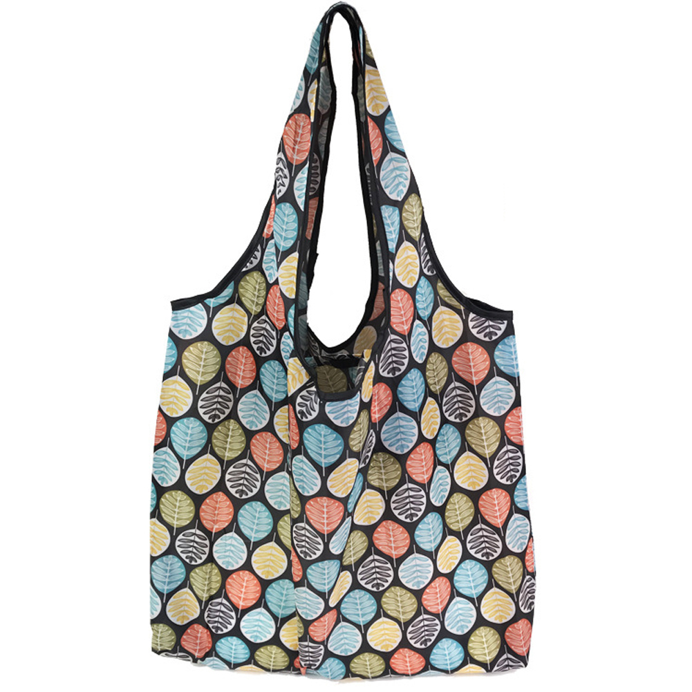 Printing Travel Grocery Wide Strap Daily Foldable Anti Tear Shopping Bag Storage Lightweight Reusable Home Soft Tote