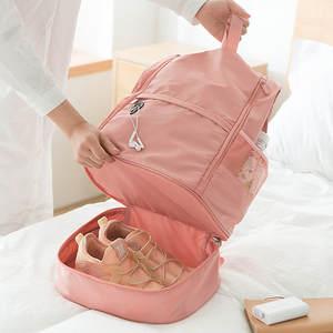 Handbag Fitness-Bag Multifunction Separation Shoulder Travel Solid Couple Large-Capacity