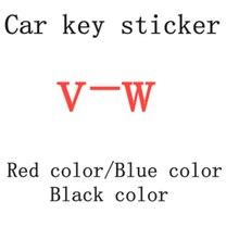 2 шт. 20 штук 14 мм для V-W эмблемы белого и синего цвета Цвет белого и черного цвета Цвет красного цвета для автомобильного ключа Алюминий Стике...