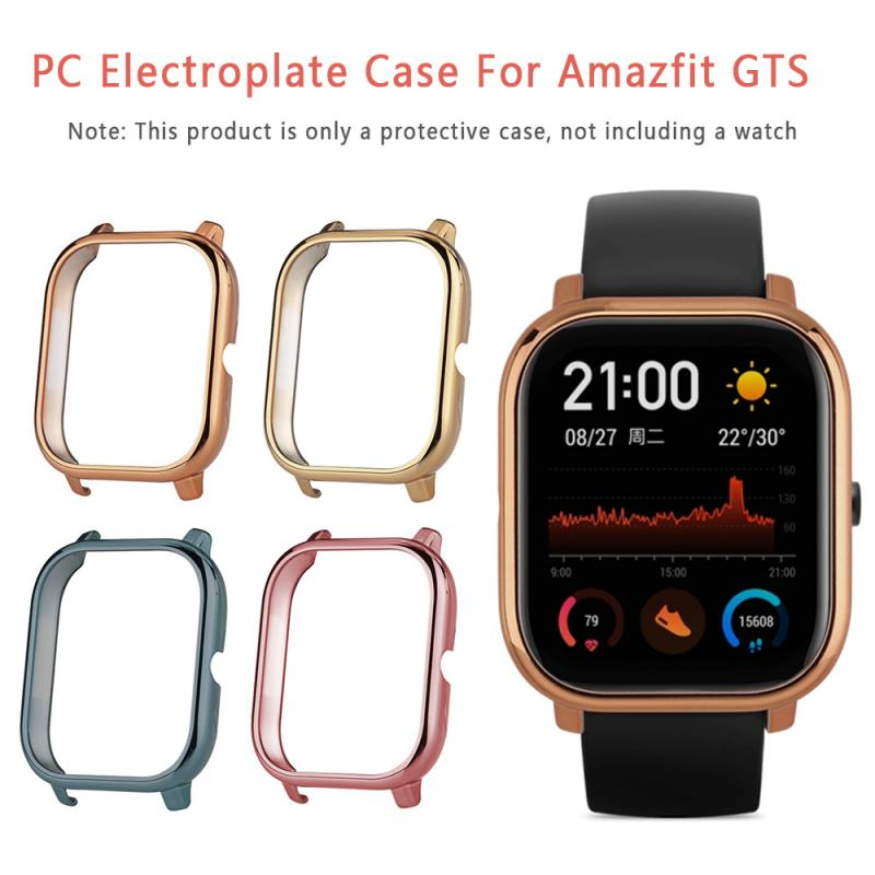 Protective Case For Amazfit GTS TPU Frame Cover For Xiaomi Huami Amazfit GTS Smart Watch Bracelet Plastic PC Protector Shell