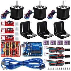 3D printer CNC controller kit For ArduinoIDE Longruner GRBL CNC shield RAMPS 1.4 mechanical switch end speed DRV8825 A4988