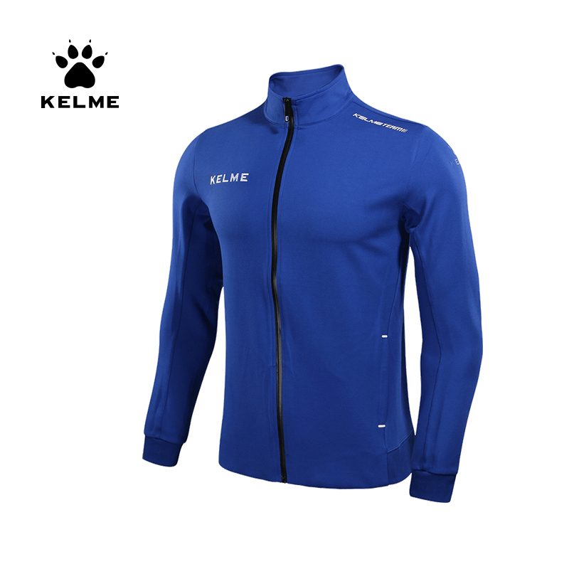 KELME Men's Sportswear Exercise Coat Windproof Jacket  Joggers Football Running Training Zipper Jacket Sports Coat Male 3871303