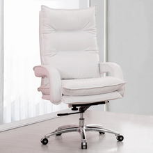 High Quality Ergonomic armchair Boss Genuine Leather business office chair comfortable Business Gift