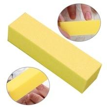 1 ПК прочный губка гвоздь пилка 6 цвет маникюр буфер блок шлифовка полировка инструмент педикюр маникюр гвоздь искусство инструмент