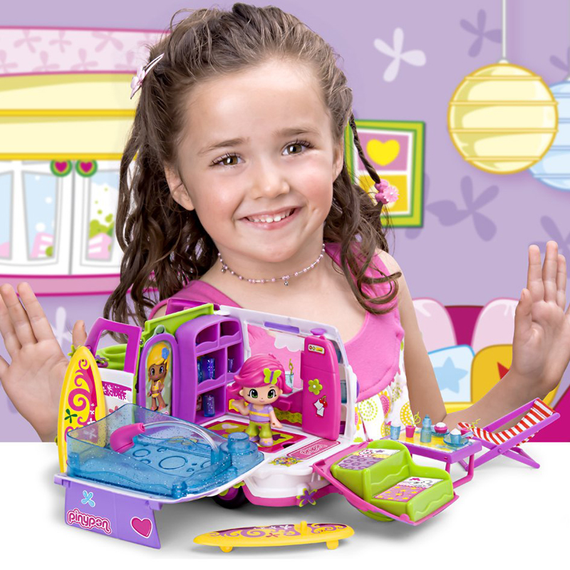 High Quality 1 Set Lovely Boneca Pinypon Scented Dolls Toys Detachable Kids Action Toy Figures Fashion Girl Doll Toys With Box