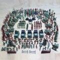 Дети 307 шт Пластиковые Военная армейская куртка базовая модель армейский мужской фигуры боевая группа оружие аксессуары Игровой Набор детс...