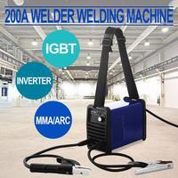 Welder Inverter DC MMA 200Amp Welding Machine iGBT Turbocharged LCD screen Greencut