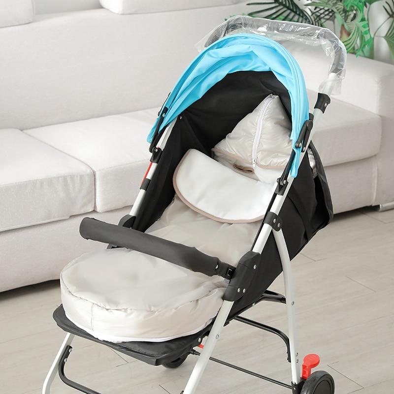 Baby Sleeping Bag Winter Thick Warm Baby Stroller Sleeping Bag Newborn Foot Cover Soft Pram Wheelchair Baby Stroller Accessories