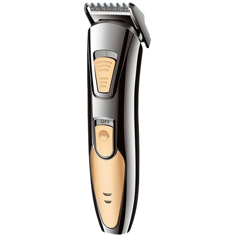 EU Plug Rechargeable Trimmer Hair Clipper For Men Head Trimmer Stubble Electric Cutter Hair Cutting Machine Haircut Beard Trimer