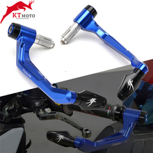 Ou suzuki hayabusa GSX R 1300 gsxr1300 motocicleta cnc guiador lidar com apertos barra termina + alavancas de freio embreagem guarda protetor