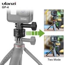 Ulanzi GP 4 Quick Release Schnalle Set für Gopro 9 8 Max 7 6 5 Universelle Schnelle Schalter Kit Gopro Zubehör