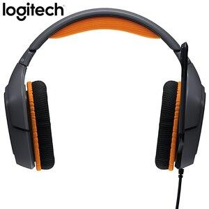 Image 4 - Logitech G231 STEREO GAMING MICROFOON HEADSET Ruisonderdrukkende MICROFOON Op de Kabel 3.5mm voor Video Game Dynamische Headset