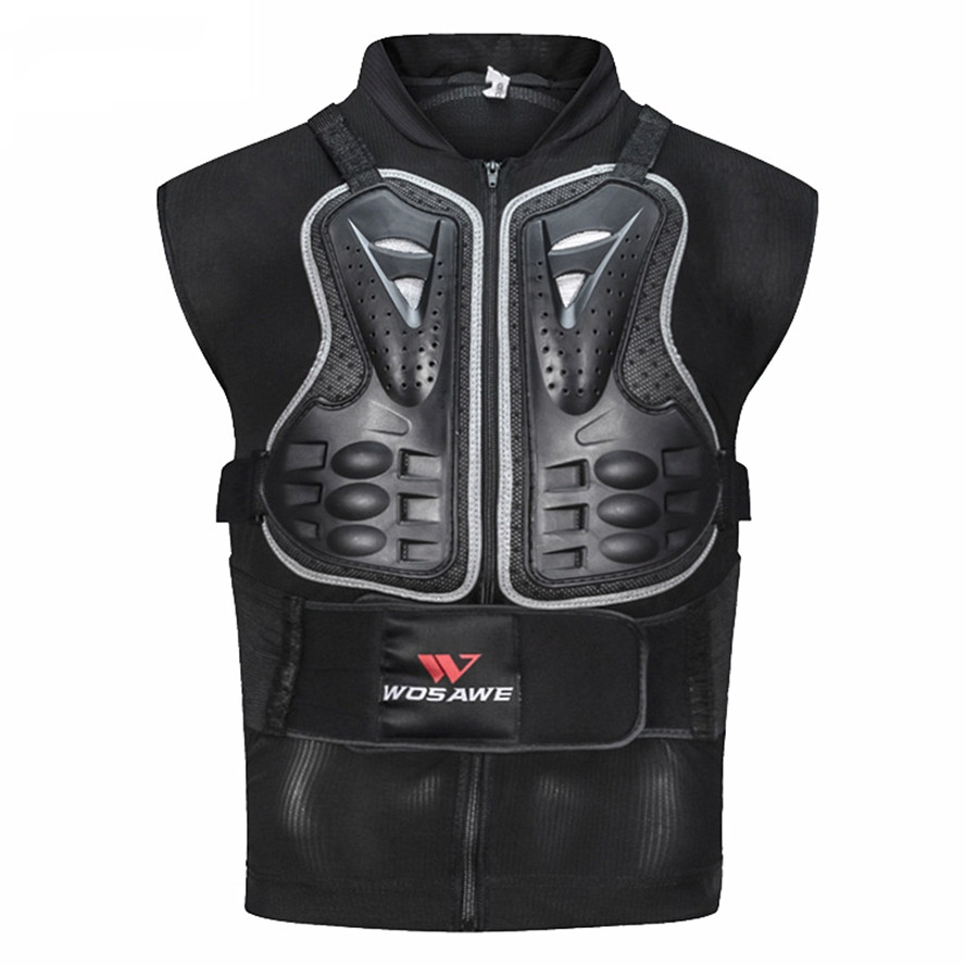 Motorcycle Armor Vest Chest Protector Shatter-resistant Armor Outdoor Cycling Ski Snowboarding Chest Jacket Sports protector