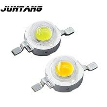 Chip LED de alta potencia para lámpara, cuentas de lámpara led cree de 1W, 3W led5W, blanco, rojo, verde, azul, amarillo, a todo color, 100 uds.