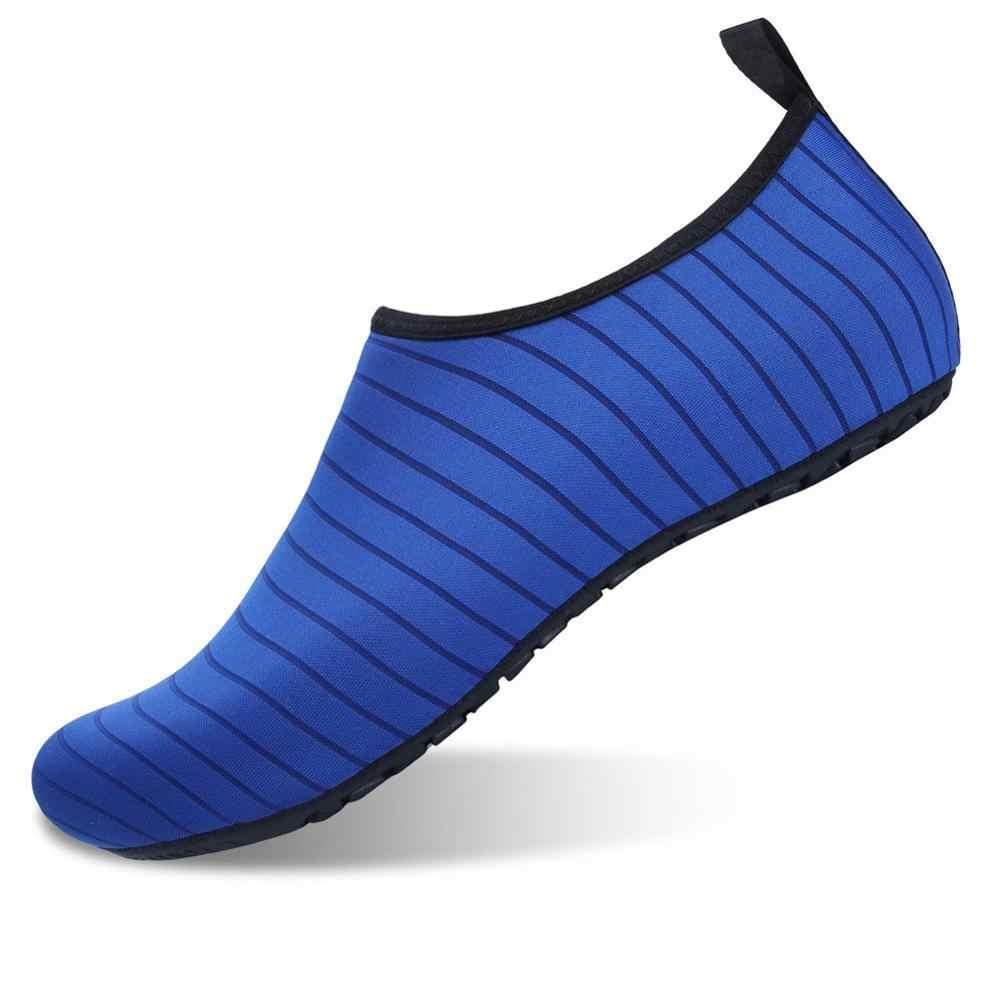 39-47 ขนาดใหญ่น้ำAquaรองเท้าสำหรับชายBeach Camping Mountain Wadingรองเท้าSportyว่ายน้ำรองเท้าBreathableรองเท้าผ้าใบตาข่าย
