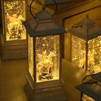 Novelty Children Music Box Kid's Birthday Gifts Musica Table Lamp Room Night Light Christmas Decor for Home Decoration