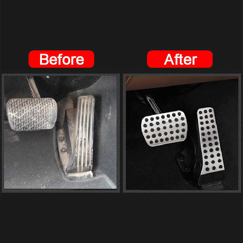 Car Gas Brake Pedal Acessories for Mercedes Benz AMG A B CLA GLA ML GL R Class W176 W245 W246 W164 W166 X164 X166 C177 X156