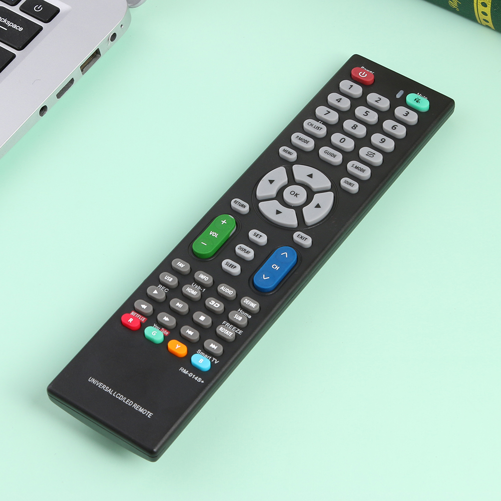 Smart TV Remote Control Television Replacement Switch RM-014S+ Universal LCD LED for Household TV Watching Accessories
