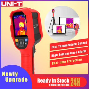 Image 1 - UNI T Infrared Thermal Imager Thermometer Imaging Camera Real time Image Temperature Tester with PC Software Analysis Type C USB