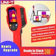 UNI T Инфракрасный термометр для тепловизора камера для визуализации в режиме реального времени тестер температуры изображения с ПК программное обеспечение анализа тип c USB
