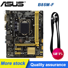 ASUS B85M-F Original placa madre B85 LGA 1150 DDR3 16GB para I3 I5 I7 22NM USB2.0 USB3.0 SATA3 se placas base